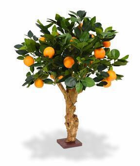 Artificial bonsai Lemon orange 65 cm