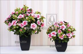 Artificial bouquet Belgian Azalea cream-pink 40 cm
