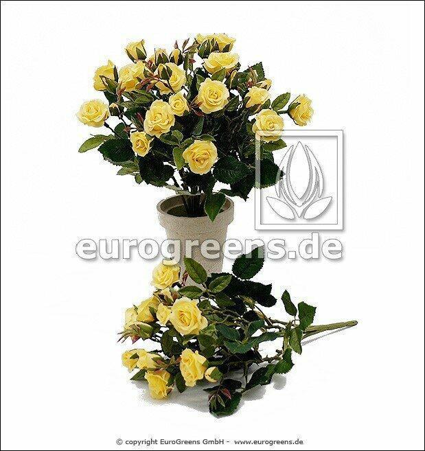 Artificial bouquet Yellow rose 25 cm