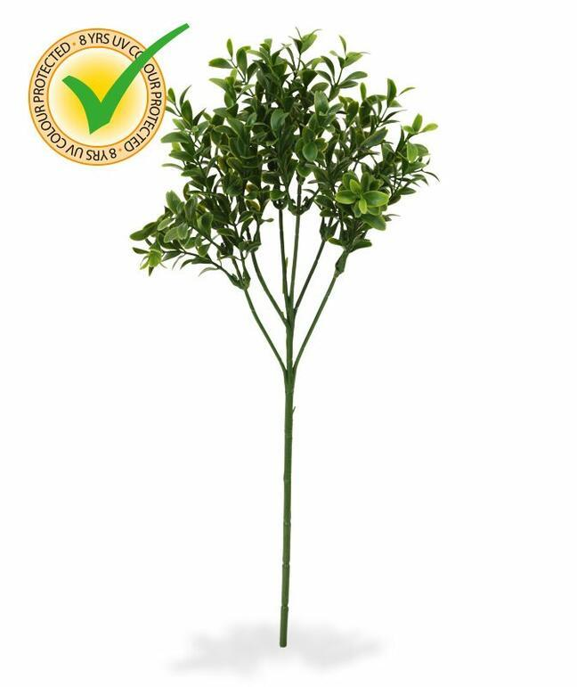 Artificial branch Buxus 50 cm
