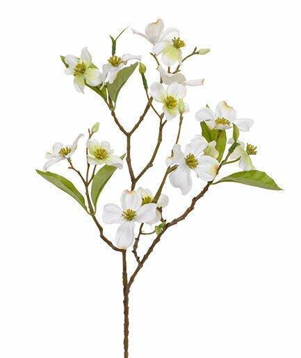 Artificial branch Cream heartwood 50 cm