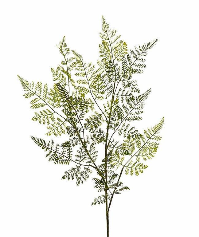 Artificial branch Female fern 90 cm