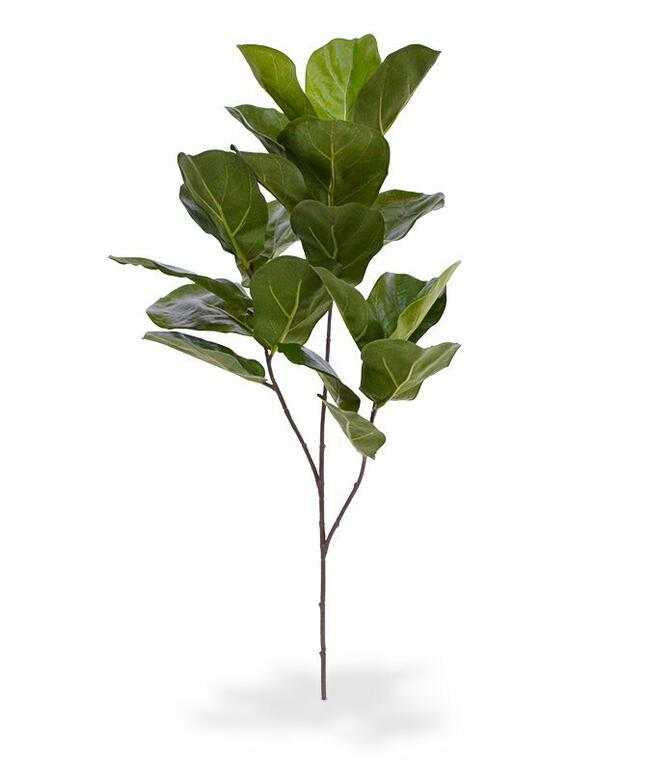 Artificial branch Fig tree 70 cm