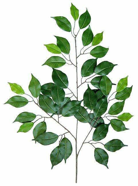 Artificial branch Fikus 50 cm