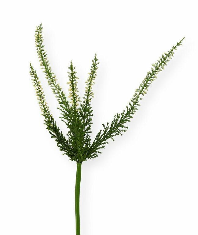 Artificial branch Heather cream 56 cm