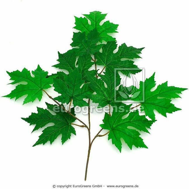 Artificial branch Maple 55 cm