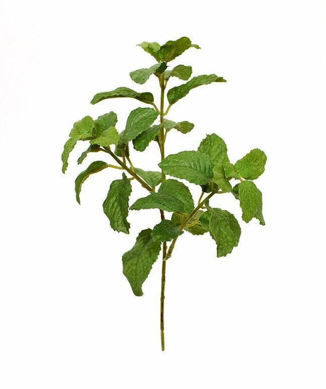 Artificial branch Mint 25 cm