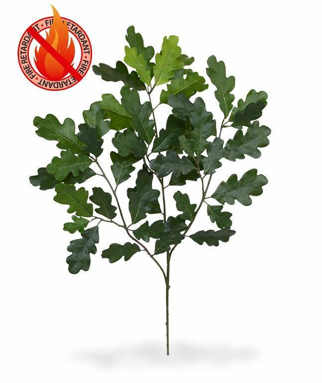 Artificial branch Oak 65 cm