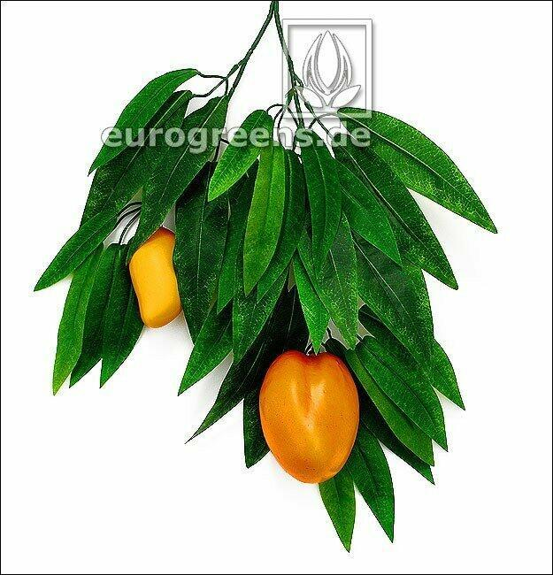 Artificial branch of Mango with fruits