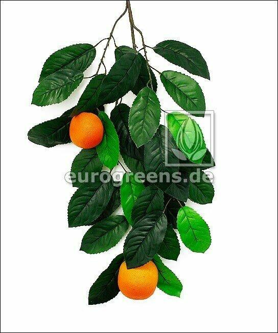 Artificial branch Orange with berries