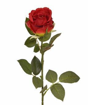 Artificial branch Red rose 74 cm
