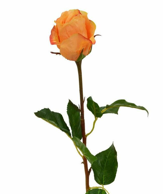 Artificial branch Rose orange 52 cm