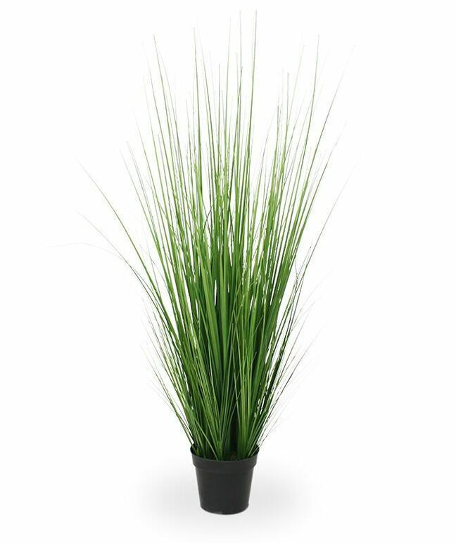 Artificial bundle of grass in a flowerpot 100 cm