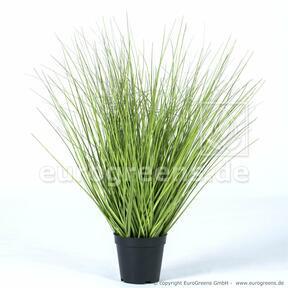 Artificial bundle of grass in a flowerpot 65 cm