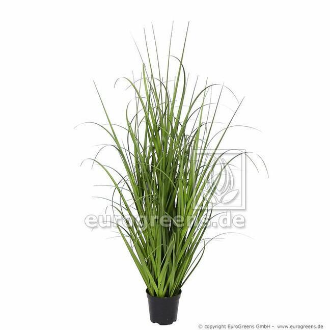 Artificial bundle of grass Miskant huge in a flowerpot 70 cm