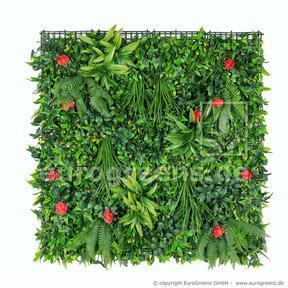 Artificial flower panel - 100x100cm