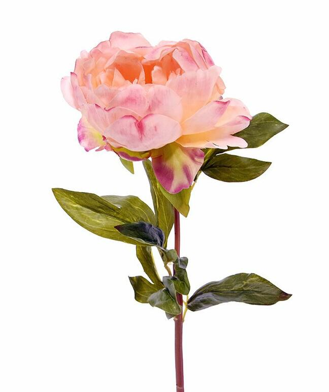 Artificial flower Peony pink 55 cm