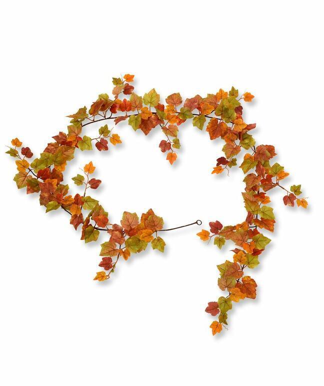 Artificial garland Grape autumn 180 cm
