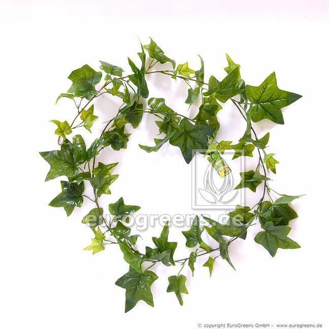 Artificial garland Ivy green 180 cm