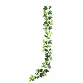 Artificial garland Ivy white-green 190 cm