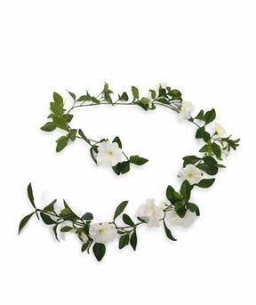 Artificial garland Petunia cream 180 cm