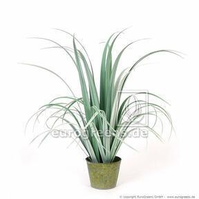 Artificial grass Bahienka in a decorative flowerpot 80 cm
