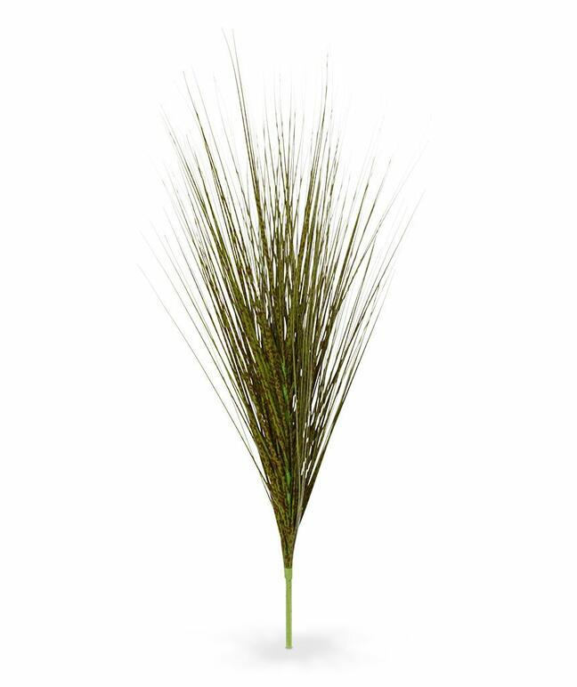 Artificial green-brown bunching bundle of grass Chinese ornament 85 cm