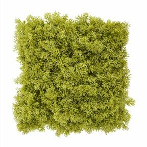 Artificial green moss panel - 25x25 cm