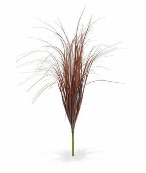 Artificial grooving bundle of burgundy grass 80 cm