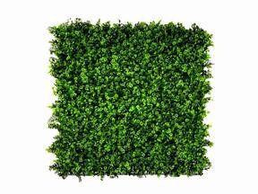 Artificial leaf panel Clover - 50x50 cm