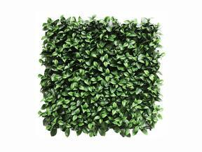 Artificial leaf panel Gardénia - 50x50 cm