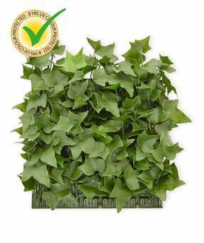 Artificial leaf panel Ivy - 25x25cm
