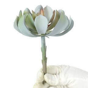 Artificial Lotus gray-pink 14 cm