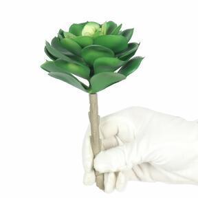 Artificial lotus plant Esheveria green 15.5 cm