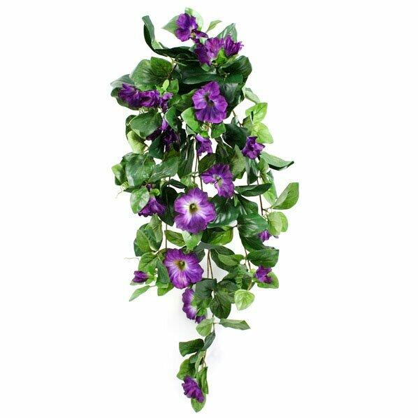 Artificial Petunia tendril purple 80 cm