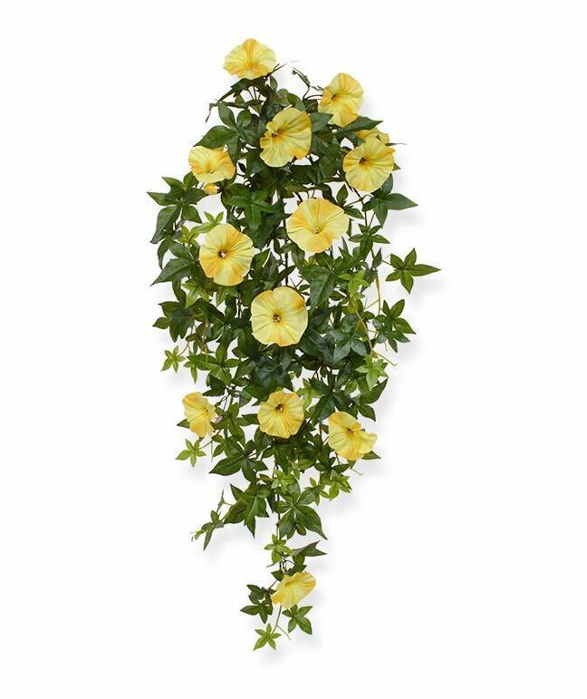 Artificial Petunia tendril yellow 70 cm