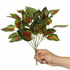 Artificial plant Basil red 25 cm