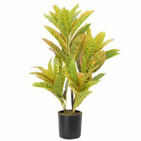 Artificial plant Croton-spotted 55 cm