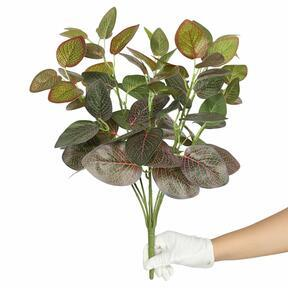 Artificial plant Fitonia red 45 cm