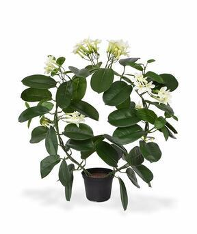 Artificial plant Flowering wreath 40 cm