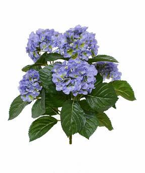 Artificial plant Hydrangea blue 40 cm