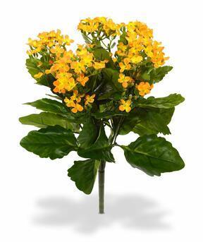 Artificial plant Kalanchoa orange 30 cm