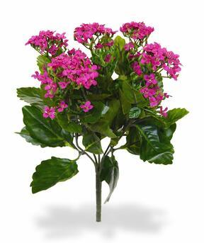 Artificial plant Kalanchoa pink 30 cm