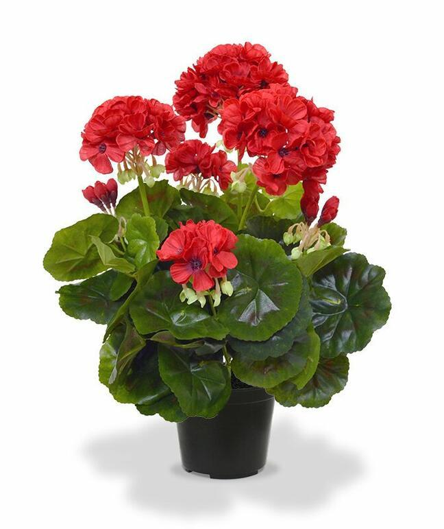 Artificial plant Pakost red 40 cm