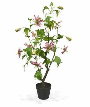 Artificial plant Passion fruit pink 90 cm