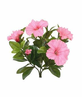 Artificial plant Petunia pink 25 cm