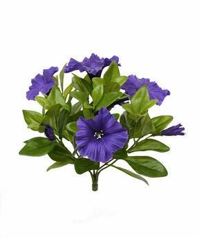 Artificial plant Petunia purple 25 cm
