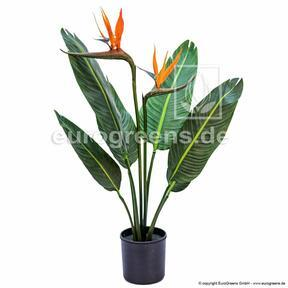 Artificial plant Shooting blooming 90 cm