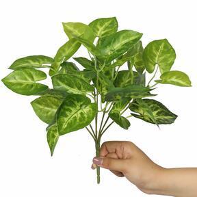 Artificial plant Taro Araceae 25 cm