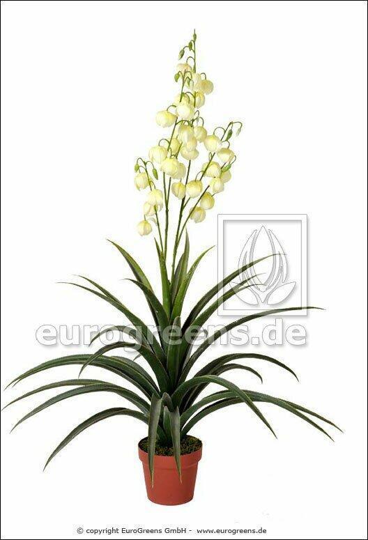 Artificial plant Yucca beautiful 125 cm